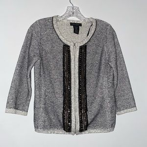 MM Couture By Miss Me Embellished Knit Cardigan